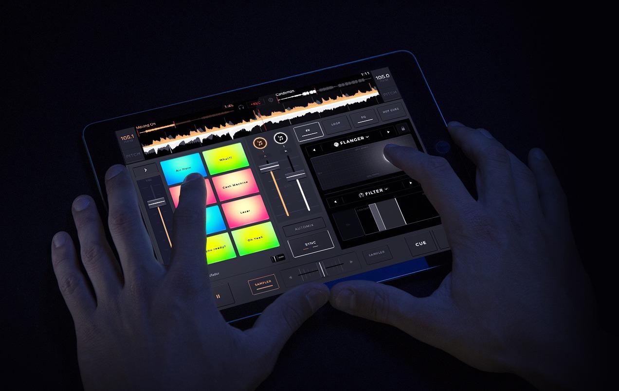 Aplicaciones para mezclar tu música - La interfaz de Edjing