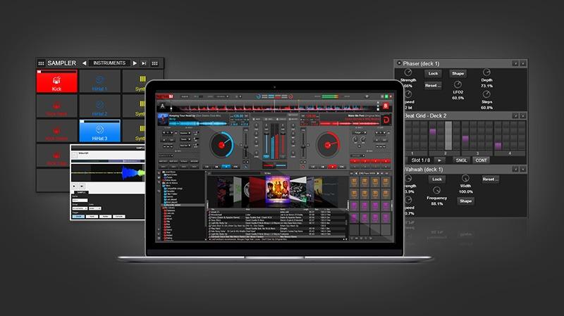 Aplicaciones para mezclar tu música La interfaz de Virtual DJ