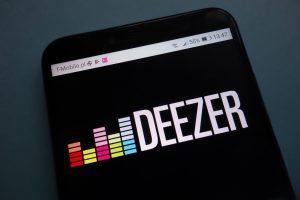 Logotipo Deezer